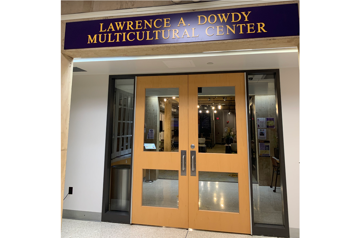 entrance to Dowdy Multicultural Center